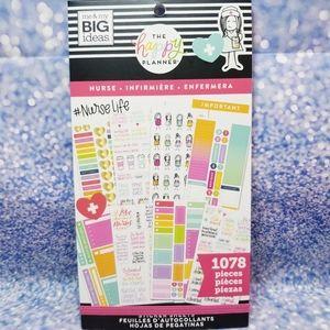 Nurse Sticker Book The Happy Planner New